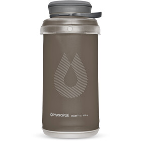 Hydrapak Stash Collapsible Bottle 1000ml Mammoth Grey